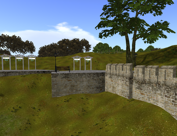 Landmark gates and Fortress